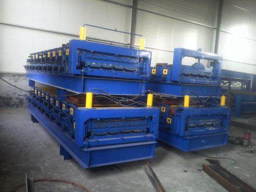 鸿运_840/910型双层压瓦机